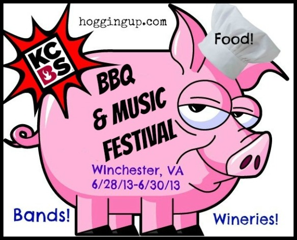 BBQ Festival and KCBS Competition in Virginia