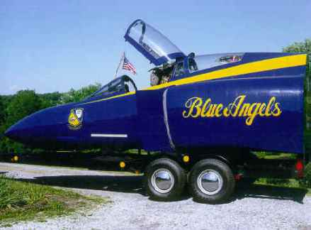 Blue Angels Plane