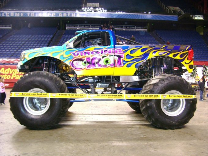 Virginia giant Monster Truck