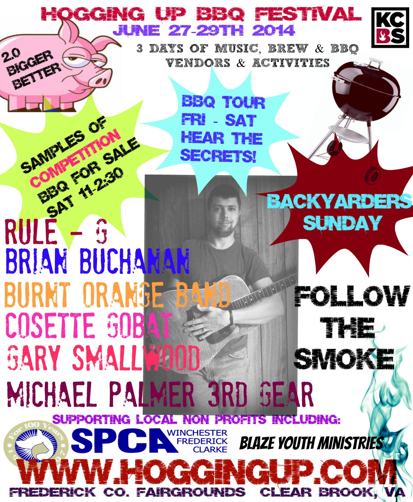 flyers and festival posters print u0027em share u0027em hogging up bbq