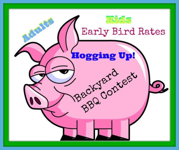 Hogging Up Backyard Contest