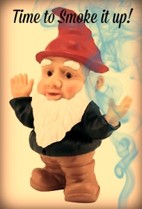 a little gnome is in the house