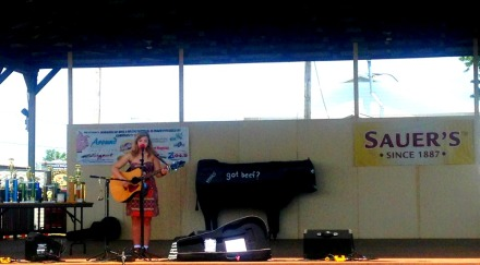 Cosette Gobat on Stage